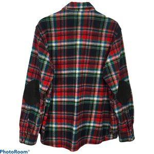 POLO Plaid Western Snap Shirt Jacket Shacket XL